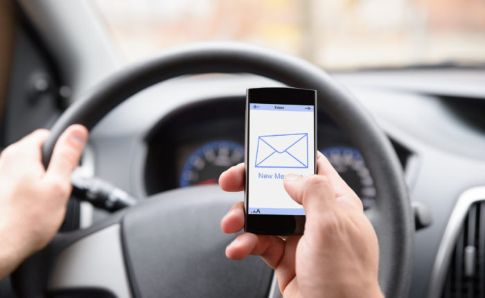 email in car