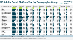 Social Media Usage Demographics 2019