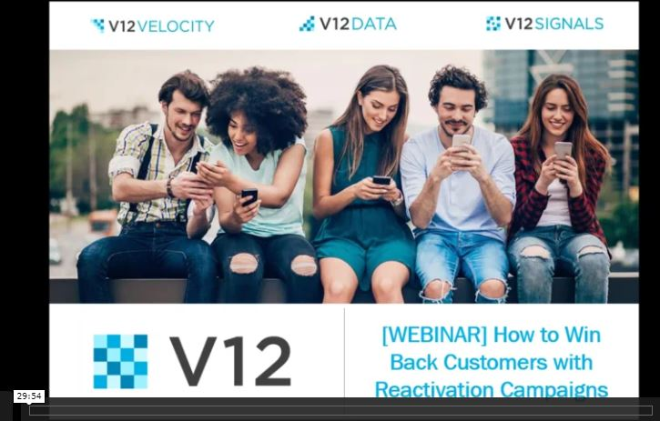 Customer Reactivation Webinar