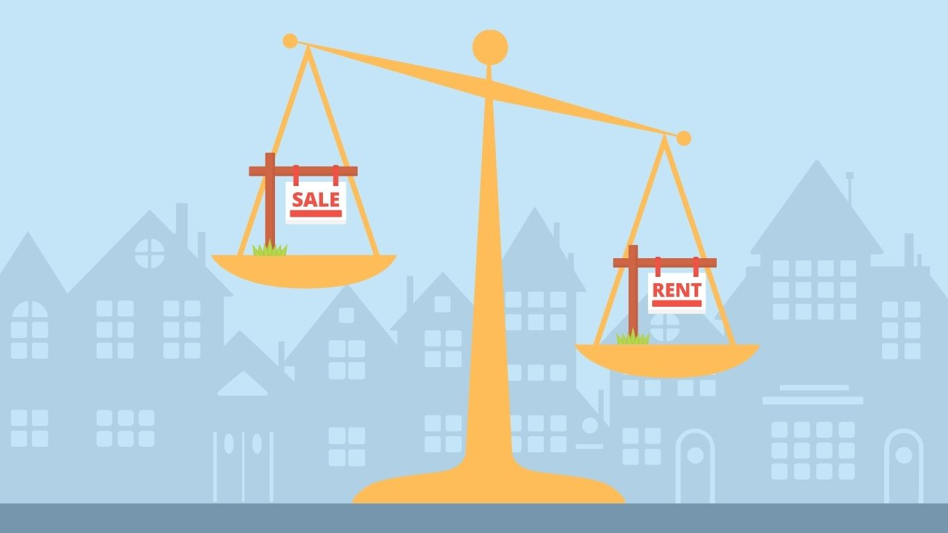 2021 study renting vs buying and how both are impacting you